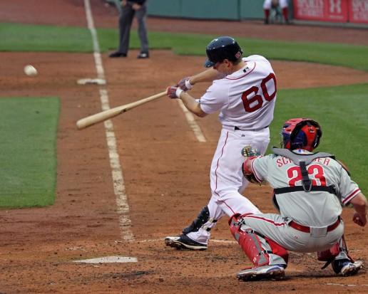 Nava first MLB swing.jpg