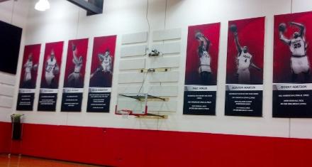 UC practice wall