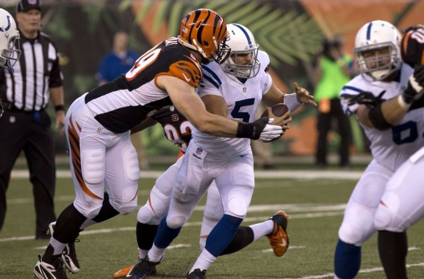 Margus Hunt vs Colts