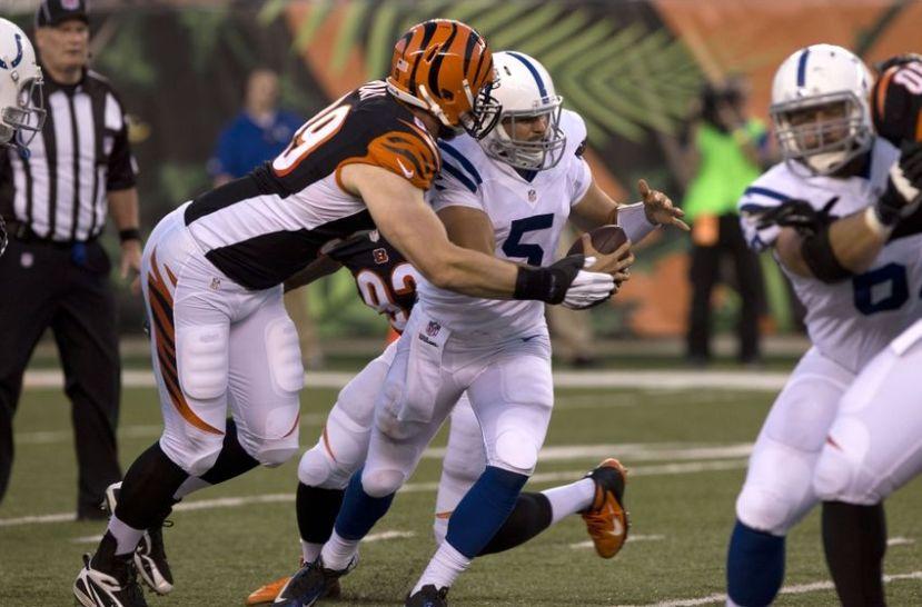 Margus Hunt vs Colts