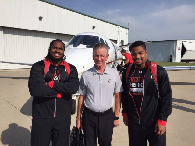 Bearcats flying to media days 2016