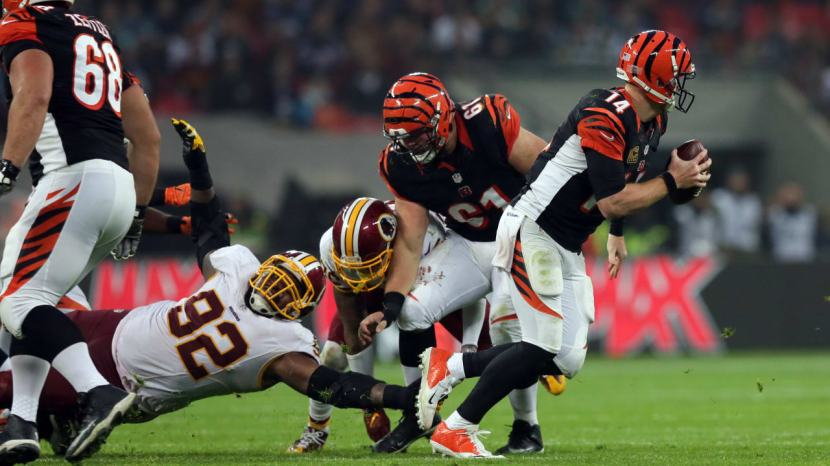 Chris Baker vs Bengals